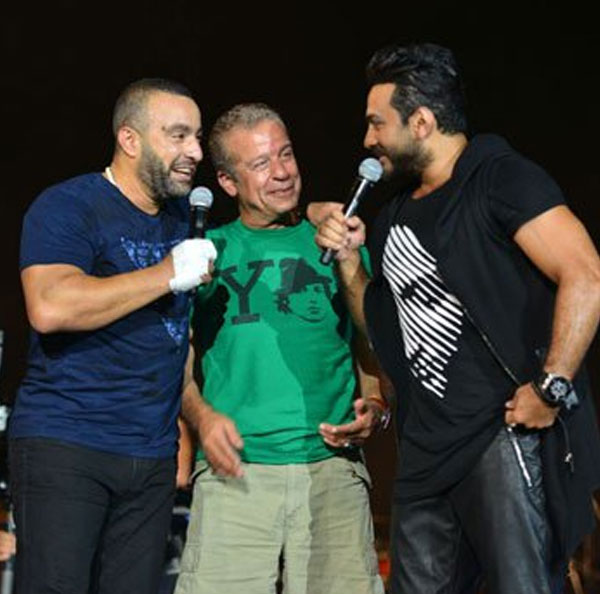 احمد السقا و تامر حسني