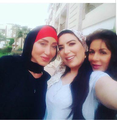 ريهام سعيد ونجلاء بدر وعبير صبري