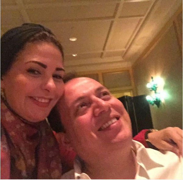 صابرين وزوجها