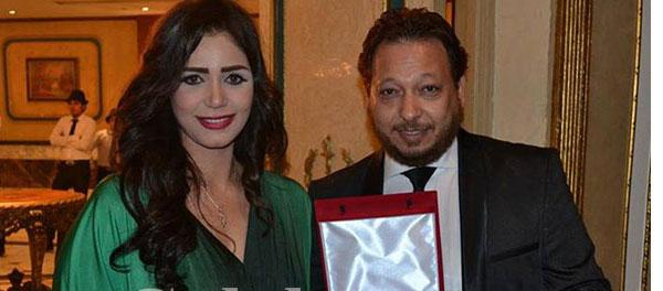 احمد العيسوي و زوجته ايناس عز الدين