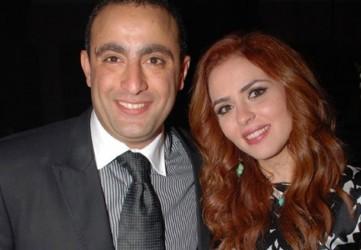 احمد السقا وزوجته - بارزة