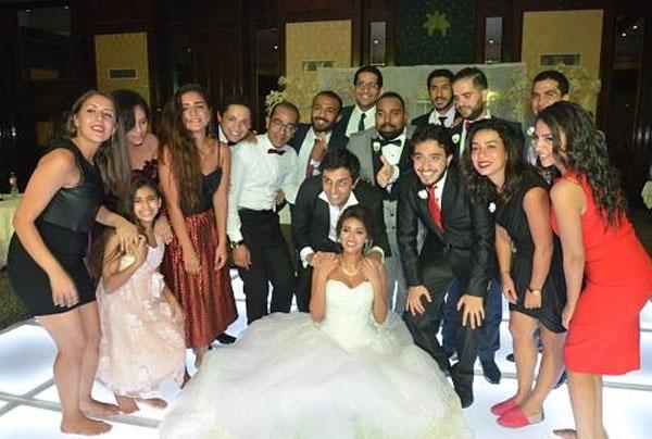 حفل زفاف حفيد سامي العدل