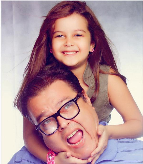 جنا عمرو ووالدها