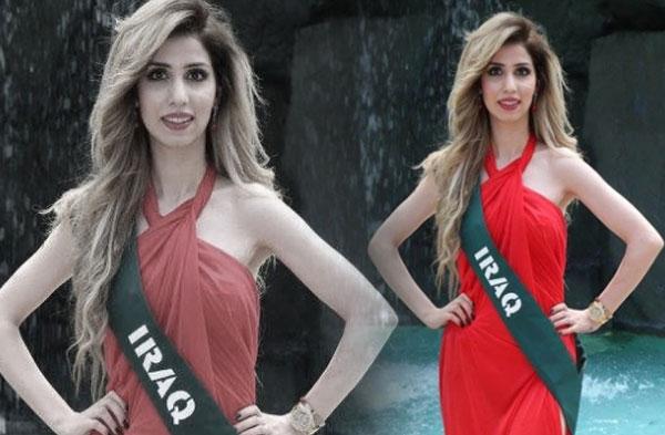 سوزان عامر ملكة جمال العراق