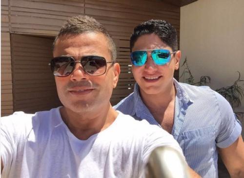 عمرو دياب وابو هشيمة
