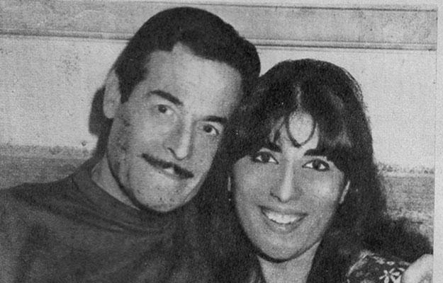 عبدالسلام النابلسي وزوجته