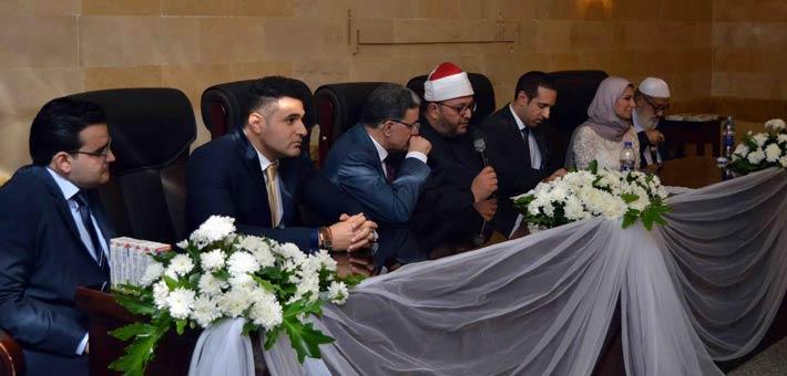 عقد قران شقيق محمد نور