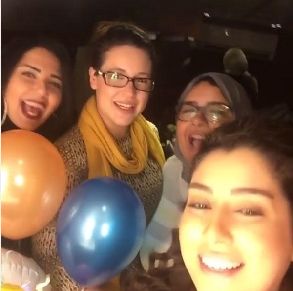 ايتن عامر - حفل عيد ميلادها