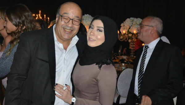 حجاج عبدالعظيم وابنته