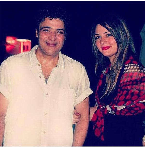 حميد الشاعري وزوجته