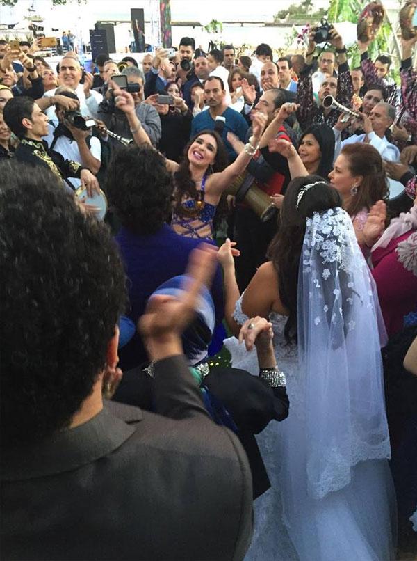 حفل زفاف ايمي سمير غانم و حسن الرداد