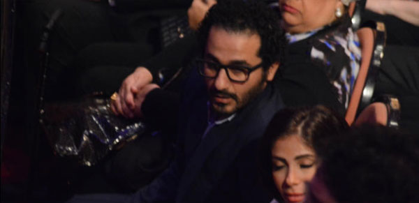 منى زكي و احمد حلمي - حفل انغام