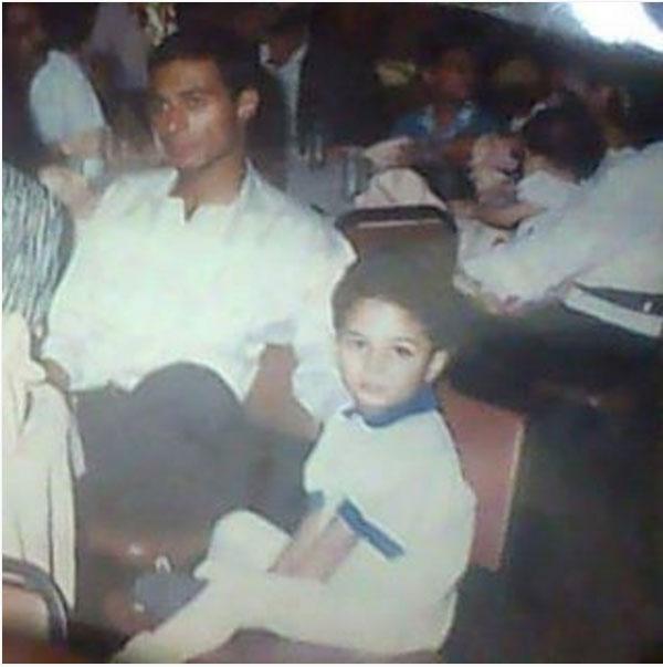 احمد عبدالله محمود ووالده