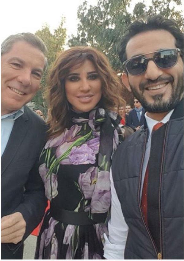 احمد حلمي و نجوى كرم و علي جابر