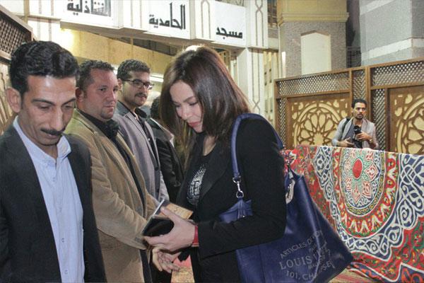 عزاء والدة الفنان طارق عبدالعزيز