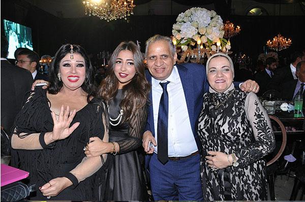 نجوم مصر في زفاف ابنة الفنان احمد صيام