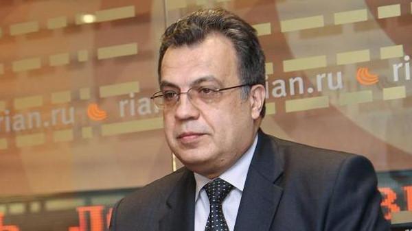 السفير الروسي بتركيا