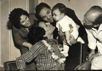 عبد الحليم حافظ واسرته