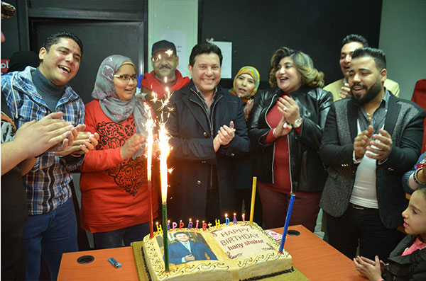 حفل عيد ميلاد هاني شاكر