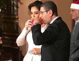 حفل زفاف داليا البحيري