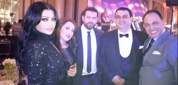 حفل زفاف ابنة صادق الصباح