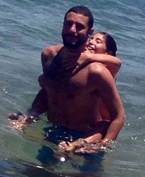 احمد الفيشاوي وابنته