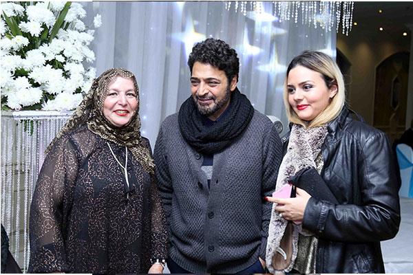 محمد قماح يحتفل بخطوبة شقيقته برعاية حميد الشاعري
