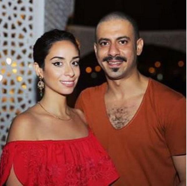 محمد فراج وحبيبته بسنت شوقي