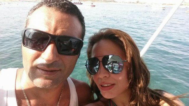 اميرة نايف وزوجها