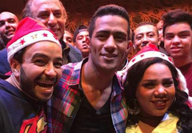 محمد رمضان وأبطال أهلا رمضان - بارزة