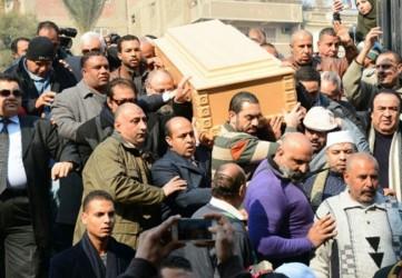 جنازة كريمة مختار - بارزة