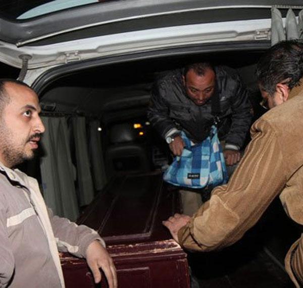 تشييع جنازة زوج ابنة فيفي عبده