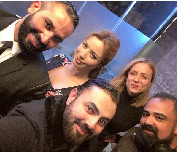 احمد سعد و ريم البارودي