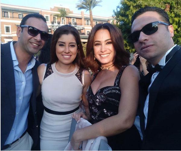 زفاف كندة علوش و عمرو يوسف