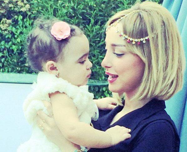 تالية ابنة تامر حسني وبسمة بوسيل3