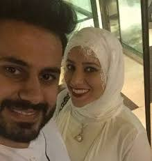 عبدالله بوشهري وزوجته