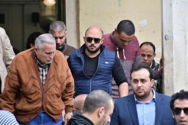 جنازة والد محمود العسيلي