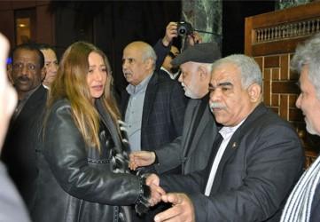 ليلى علوي - عزاء سيد حجاب  - بارزة