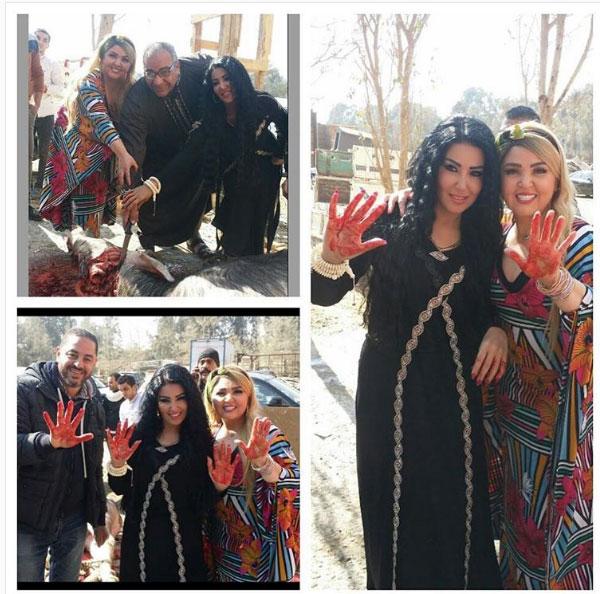 مها احمد و سمية الخشاب