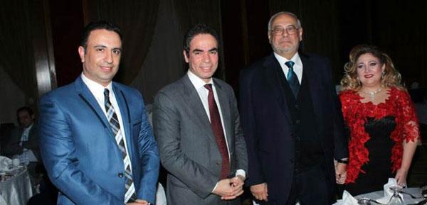 حفل زفاف نادية حسني