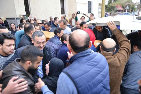 جنازة صلاح رشوان