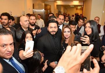 تامر حسني و  يسرا و ابراهيم السلطان يشعلون حفل عطلة نصف العام - بارزة