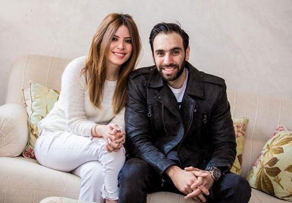 احمد شامي وزوجته