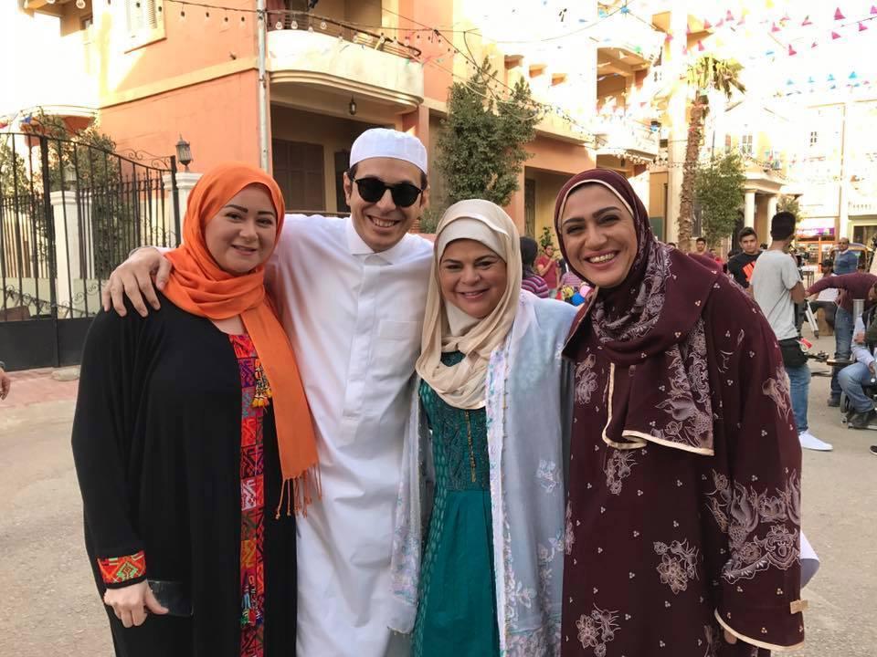 ماجدة زكي ومصطفى شعبان