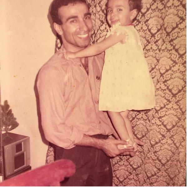 ميريهان حسين في الطفولة