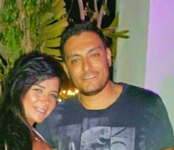 احمد صفوت وزوجته