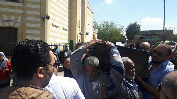 جنازة والد خالد سليم