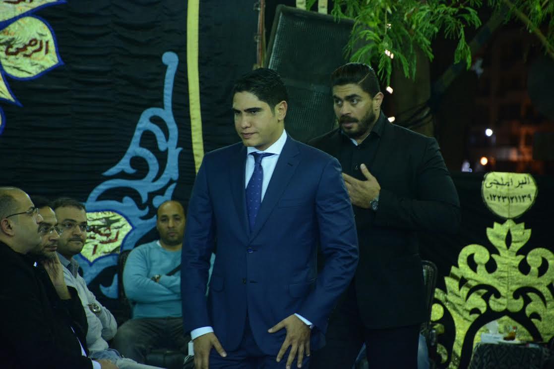 عزاء والد خالد سليم