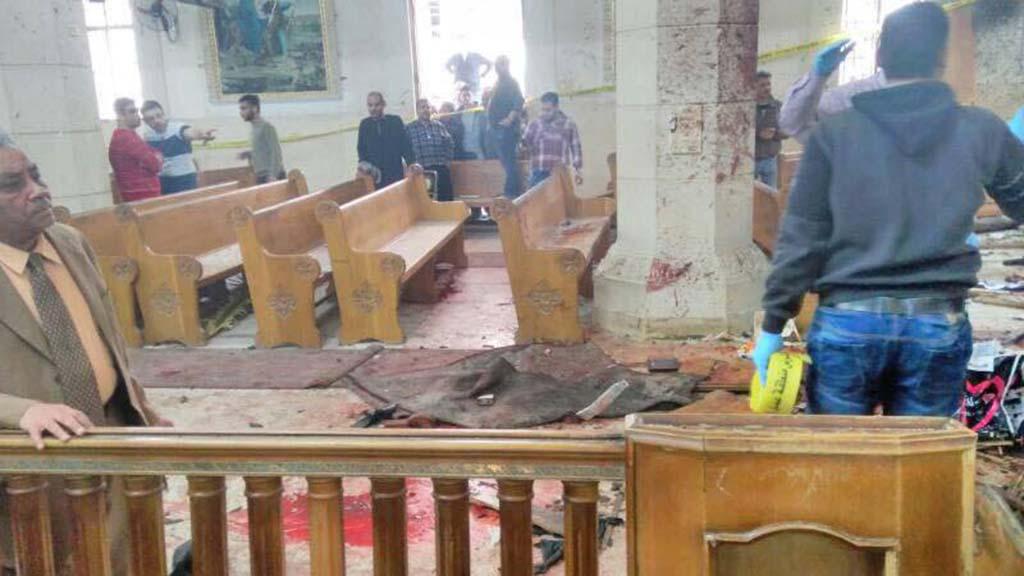 انفجار الكنيسة