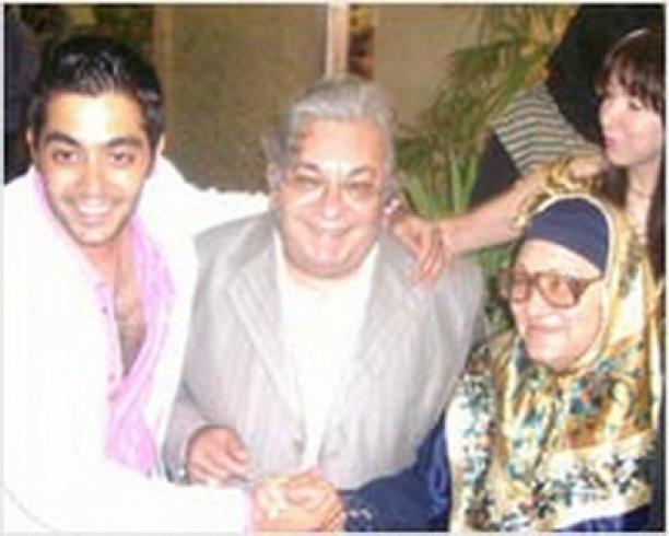 احمد فلوكس ووالده